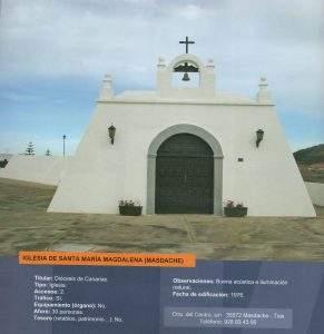 ermita de santa maria magdalena masdache tias