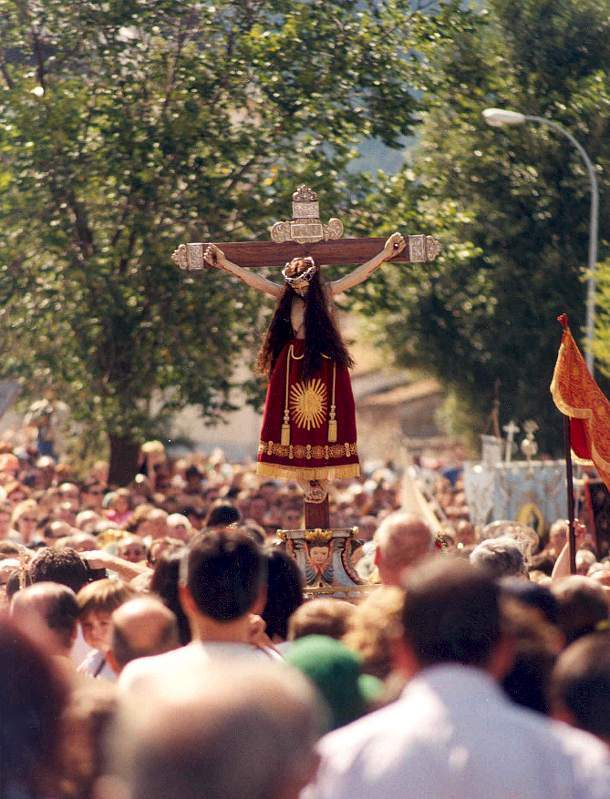 ermita del santisimo cristo del caloco el espinar