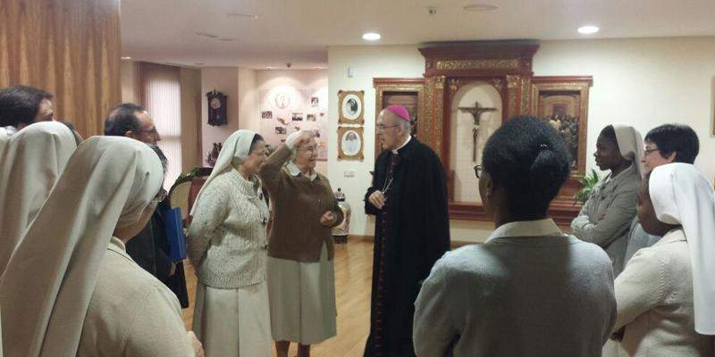 esclavas de la santisima eucaristia y de la madre de dios madrid