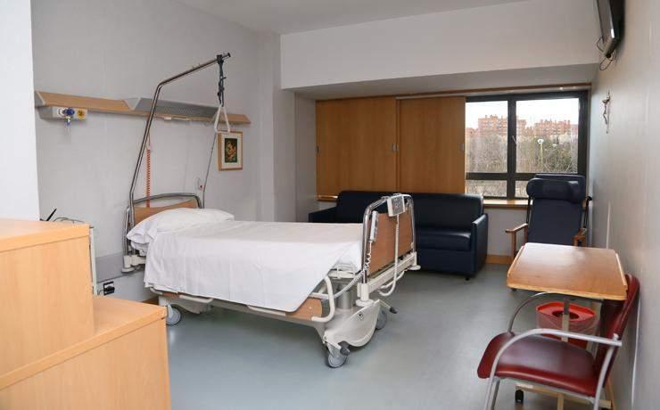 hospital centro de cuidados laguna madrid