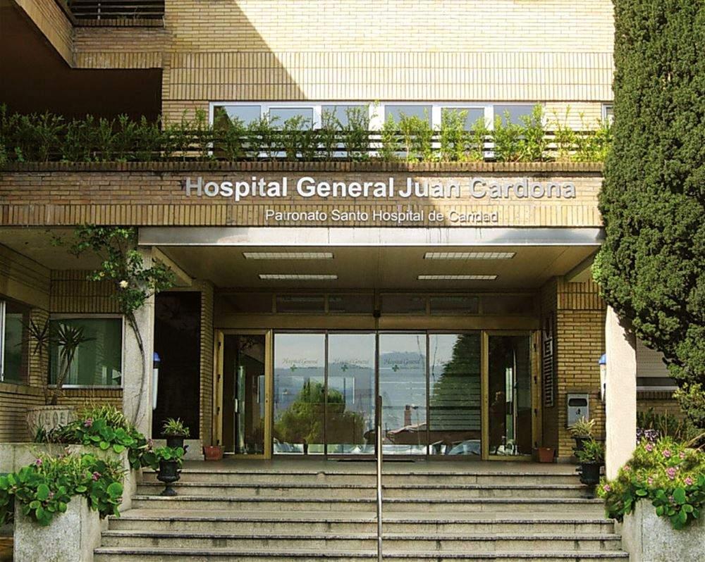 hospital general juan cardona santo hospital de caridad ferrol