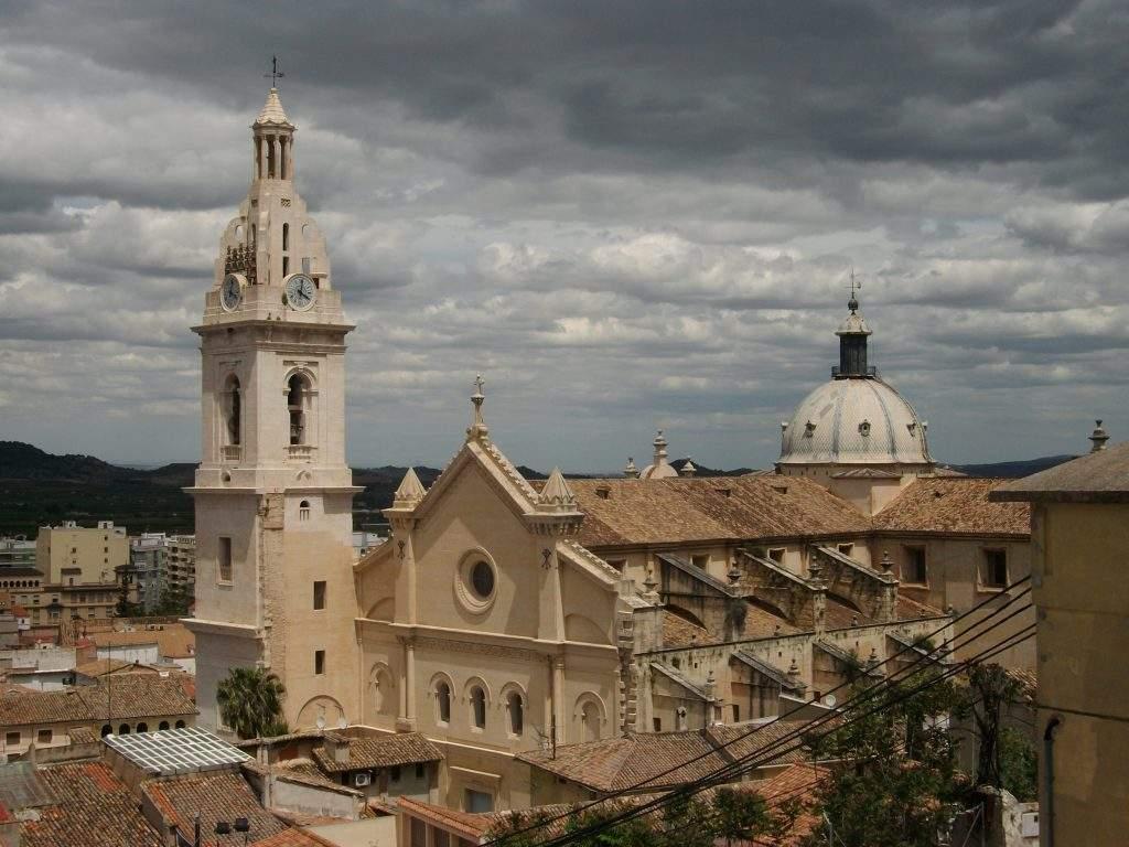 iglesia colegial basilica de santa maria xativa