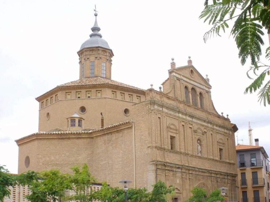 iglesia de la compania de maria tudela