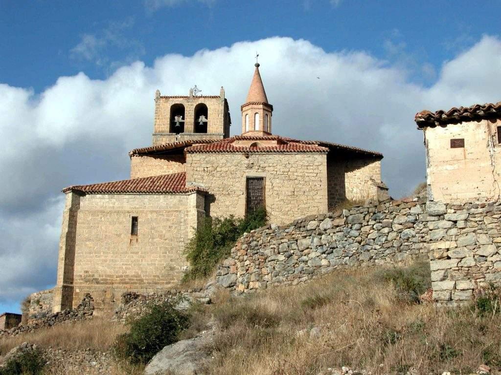 iglesia de la estrella enciso