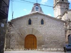 iglesia de la mare de deu de gracia vilalba dels arcs