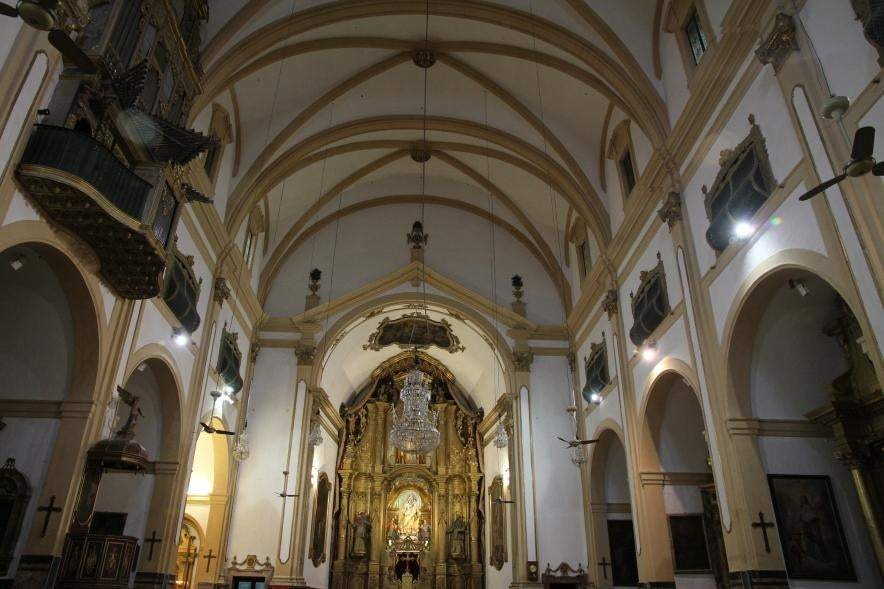 iglesia de la mare de deu de la merce padres mercedarios palma de mallorca