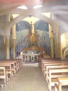 iglesia de la mare de deu de montserrat clariana