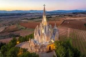 Iglesia de la Mare de Déu de Montserrat de la Bleda (Pacs del Penedès)
