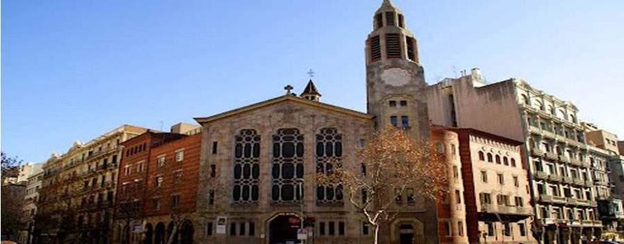iglesia de la mare de deu dels angels oliana