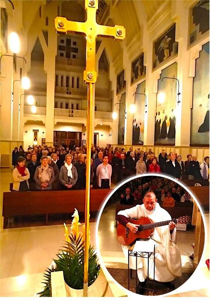 iglesia de la milagrosa misioneros paules pamplona