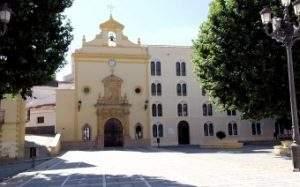 iglesia de la virgen de las angustias guadix