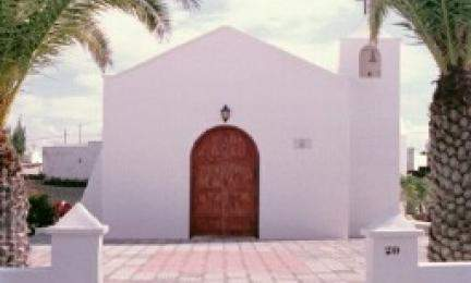iglesia de la virgen del pilar el cuchillo tinajo