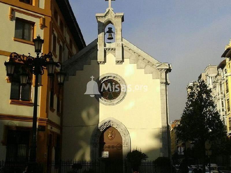 iglesia de las siervas de jesus de la caridad oviedo