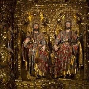 iglesia de los santos cosme y damian arnedo