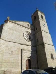 iglesia de los santos martires brozas