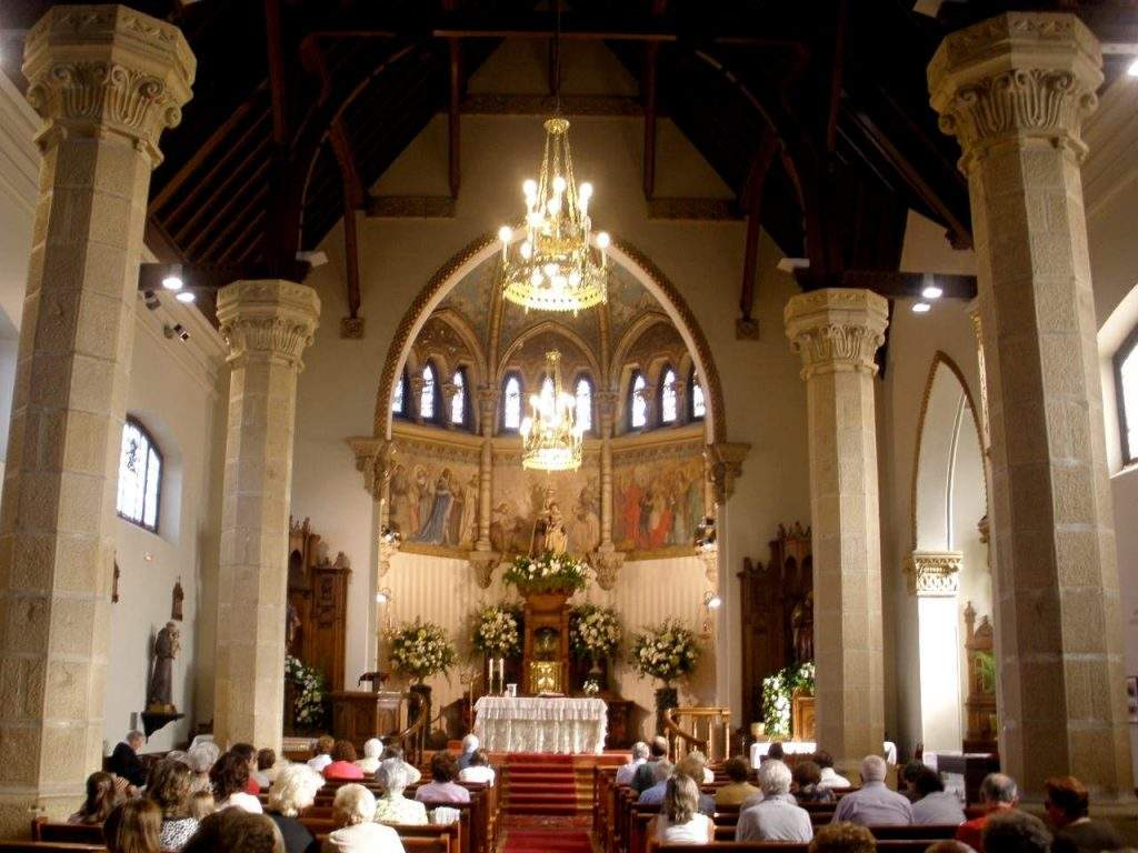 iglesia de nuestra senora del carmen agustinos getxo
