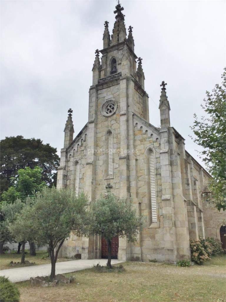 iglesia de san andres lourizan