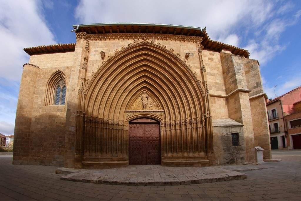 iglesia de san juan bautista aranda de duero 1