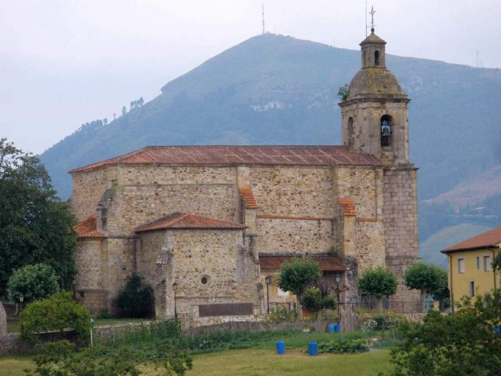 iglesia de san juan bautista colindres