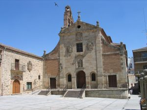 iglesia de san juan de la cruz carmelitas descalzos alba de tormes