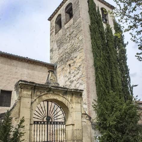 iglesia de san marcos segovia