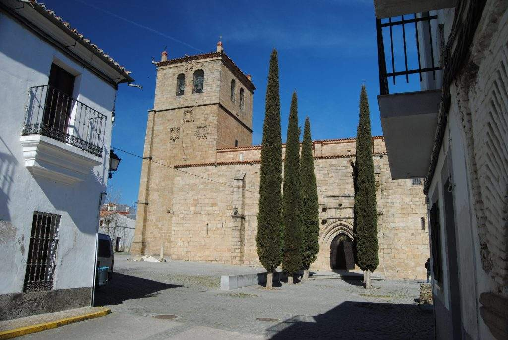 iglesia de san pedro garrovillas de alconetar