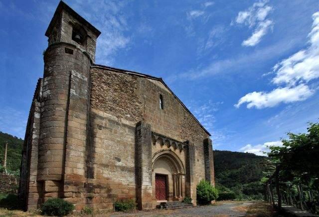 iglesia de san vicente pombeiro