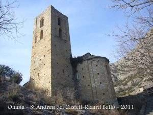 iglesia de sant andreu del castell doliana oliana