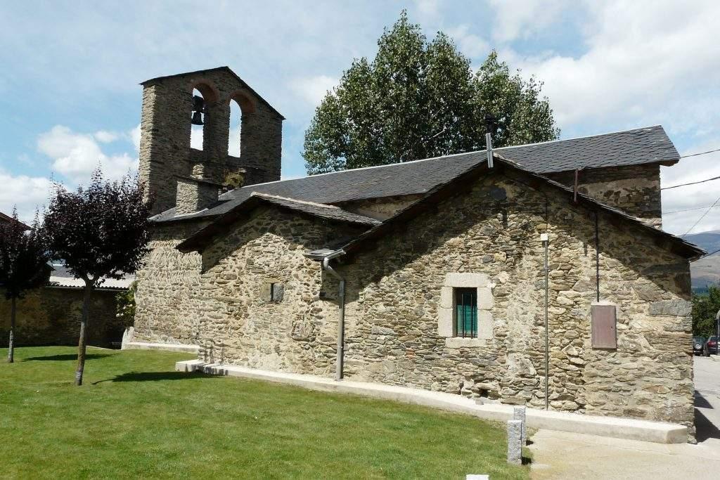 iglesia de sant andreu vilallobent
