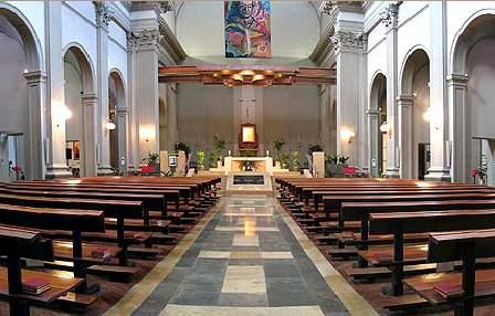 iglesia de sant antoni maria claret vic