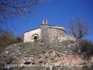 iglesia de sant blai el fonoll passanant