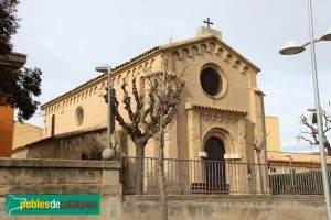 iglesia de sant domenec de la rapita santa margarida i els monjos
