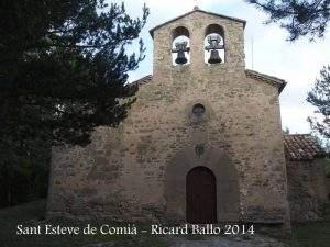 iglesia de sant esteve de comia borreda