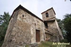 Iglesia de Sant Esteve de Vallespirans (Les Llosses)
