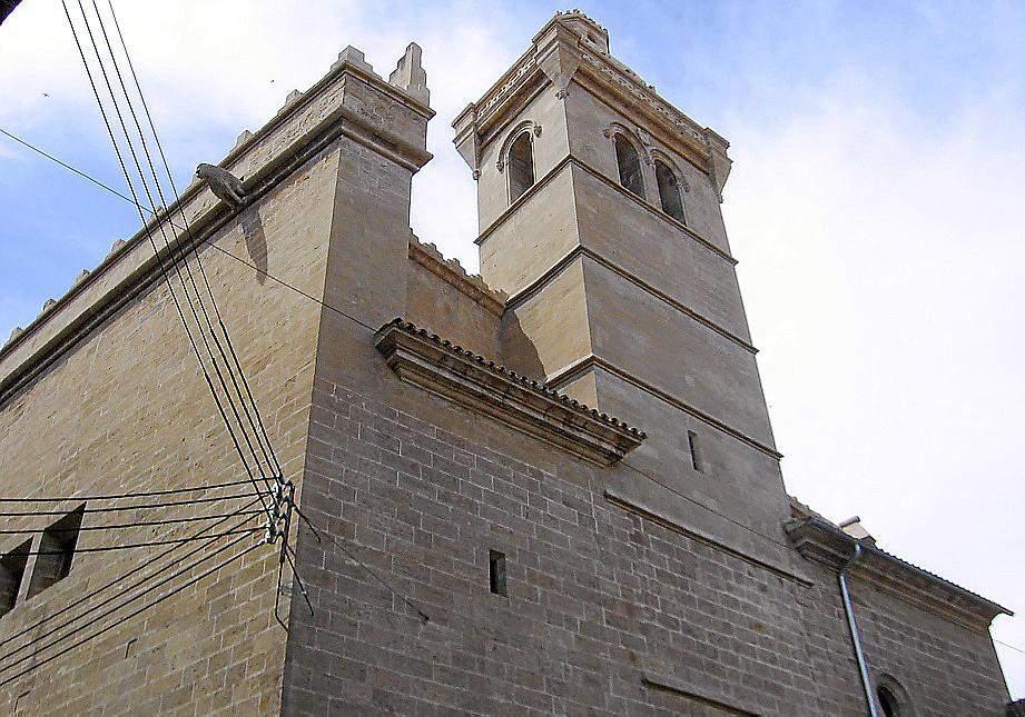 iglesia de sant felip neri soller