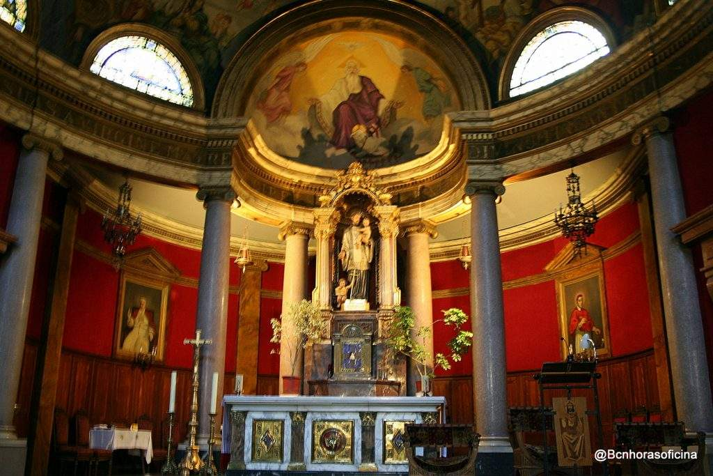 iglesia de sant gaieta padres teatinos barcelona 1