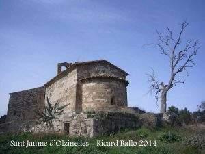 Iglesia de Sant Jaume d'Olzinelles (Sant Fruitós de Bages)