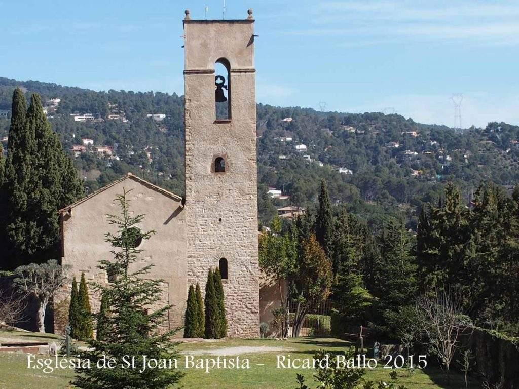 iglesia de sant joan baptista matadepera
