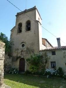 iglesia de sant julia de tregura vilallonga de ter