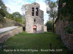 Iglesia de Sant Martí (Ogassa)