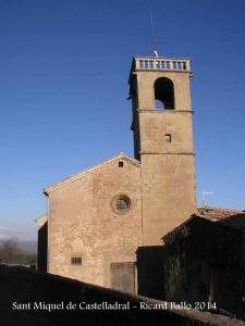 iglesia de sant miquel castelladral
