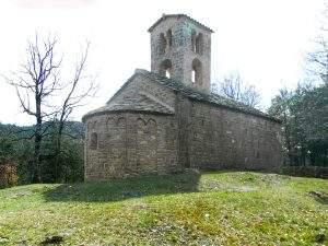 Iglesia de Sant Sadurní de Rotgers (Borredà)