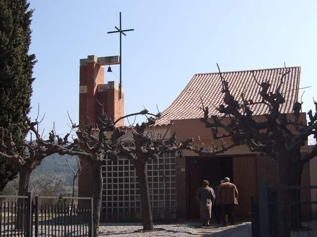 iglesia de sant sebastia del bedorc piera