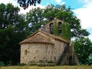iglesia de sant valenti de salarca beget