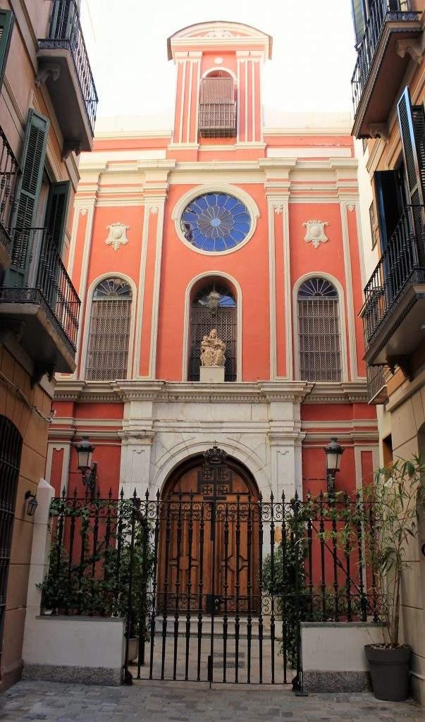 iglesia de santa ana del cister malaga