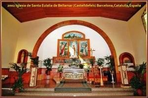 Iglesia de Santa Eulàlia (Bellamar) (Castelldefels)