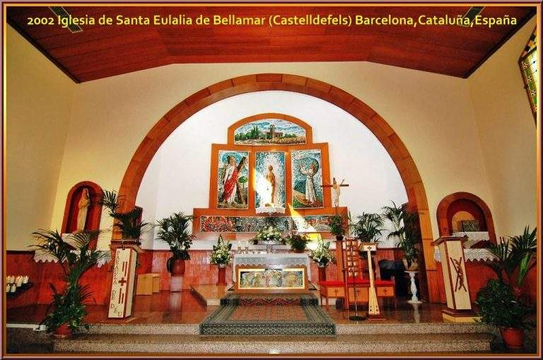 iglesia de santa eulalia bellamar castelldefels 1