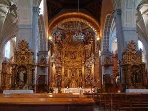iglesia de santa maria alaejos