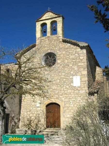 iglesia de santa maria de collbas carme