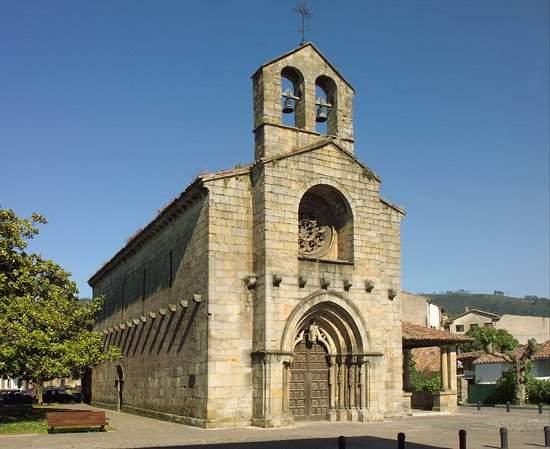 iglesia de santa maria de la oliva villaviciosa